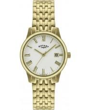 Rotary GB00794-32 Męskie Ultra Slim pozłacany zegarek